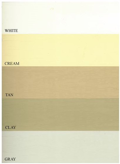 Vinyl Siding Colors Kempton Sheds